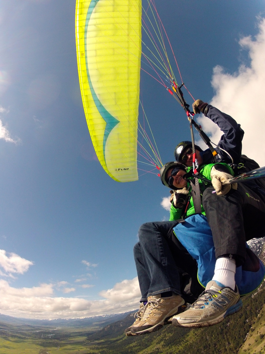 Local Paragliding Photo Gallery – Jackson Hole Paragliding